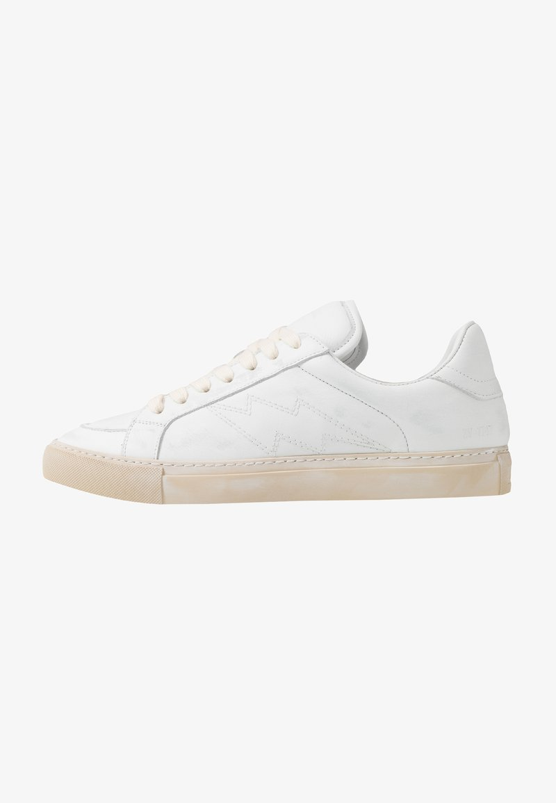 Zadig & Voltaire - USED - Baskets basses - blanc