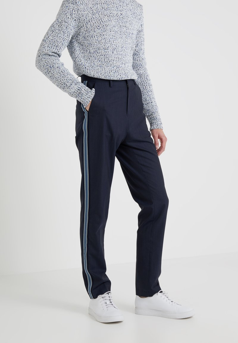 Zadig & Voltaire - PADDY STRIPE - Trousers - marine