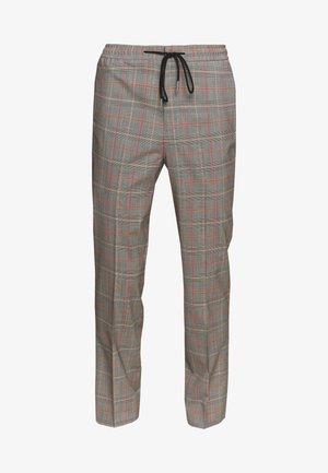 PEROU CHECKS - Spodnie materiałowe - gris