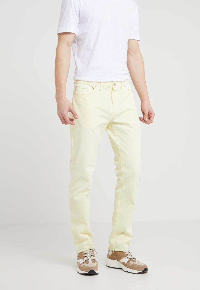 Zadig & Voltaire - DAVID CROP COLO - Jeans Slim Fit - jaune