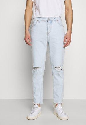 DUG CROP LIGHT - Straight leg jeans - ciel