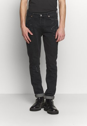 DAVID PAINT - Slim fit jeans - noir