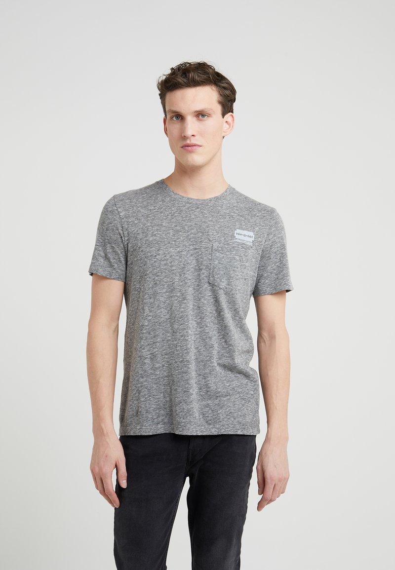Zadig & Voltaire - TOM - T-shirt imprimé - gris/chine clair