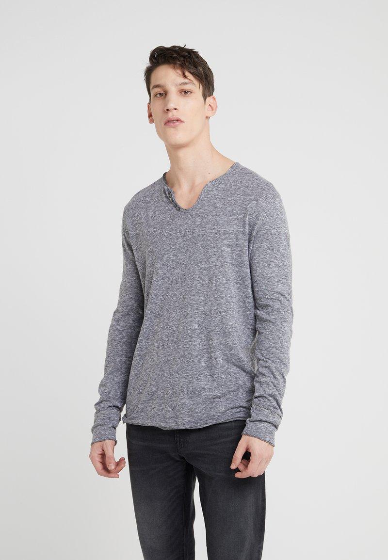 Zadig & Voltaire - MONASTIR ML LOV - Bluzka z długim rękawem - gris chine