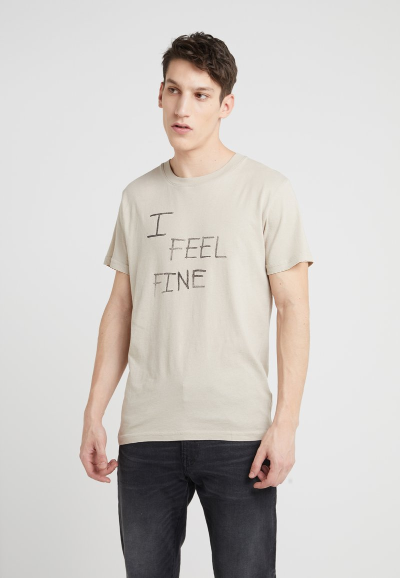 Zadig & Voltaire - TIBO LIGHT FINE - T-shirt con stampa - galet