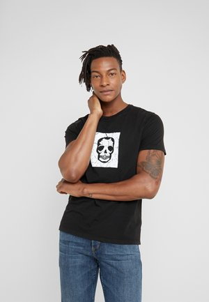 TOMMY SMALL - T-shirt con stampa - noir