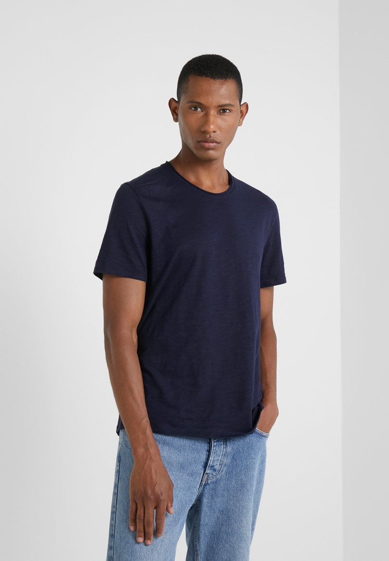 Zadig & Voltaire - TOBY FLAMMÉ OVE - T-shirt basic - marine