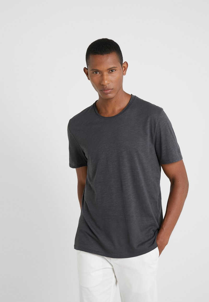 Zadig & Voltaire - TOBY FLAMMÉ OVE - Basic T-shirt - anthracite
