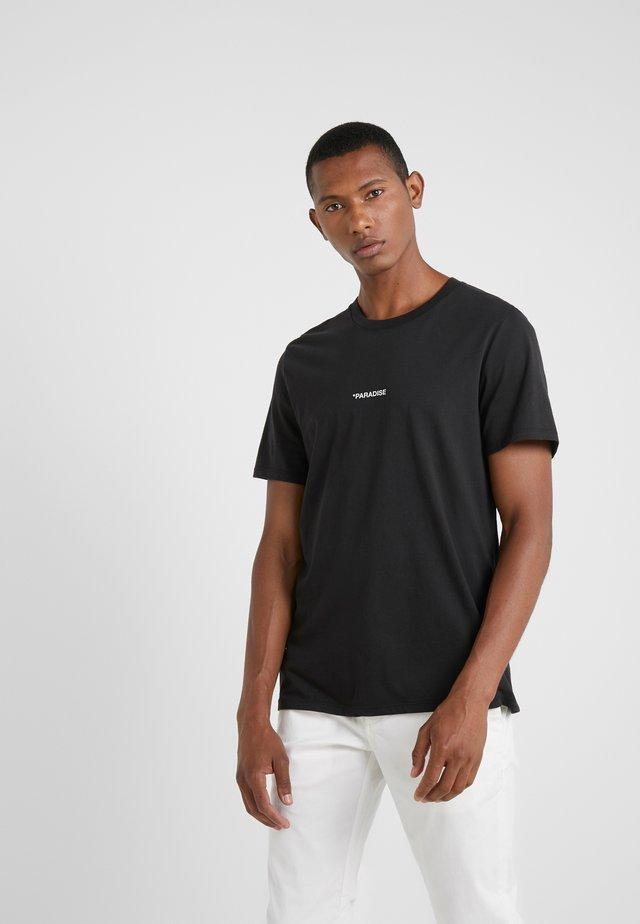 TED PARADISE - Print T-shirt - noir