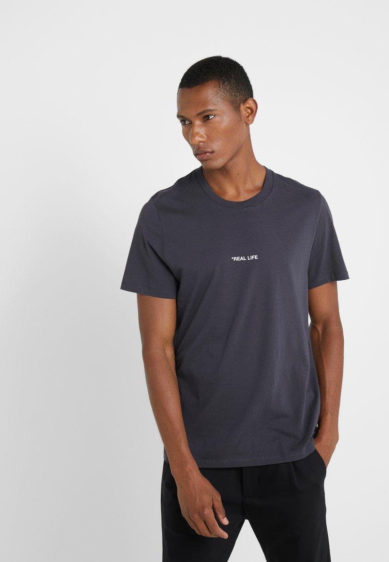 Zadig & Voltaire - TED REAL LIFE - Camiseta estampada - anthracite