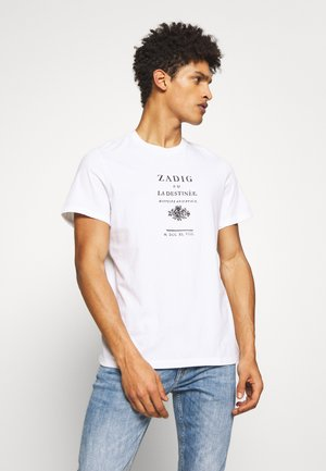 TOMMY ZADIG - T-shirt con stampa - blanc