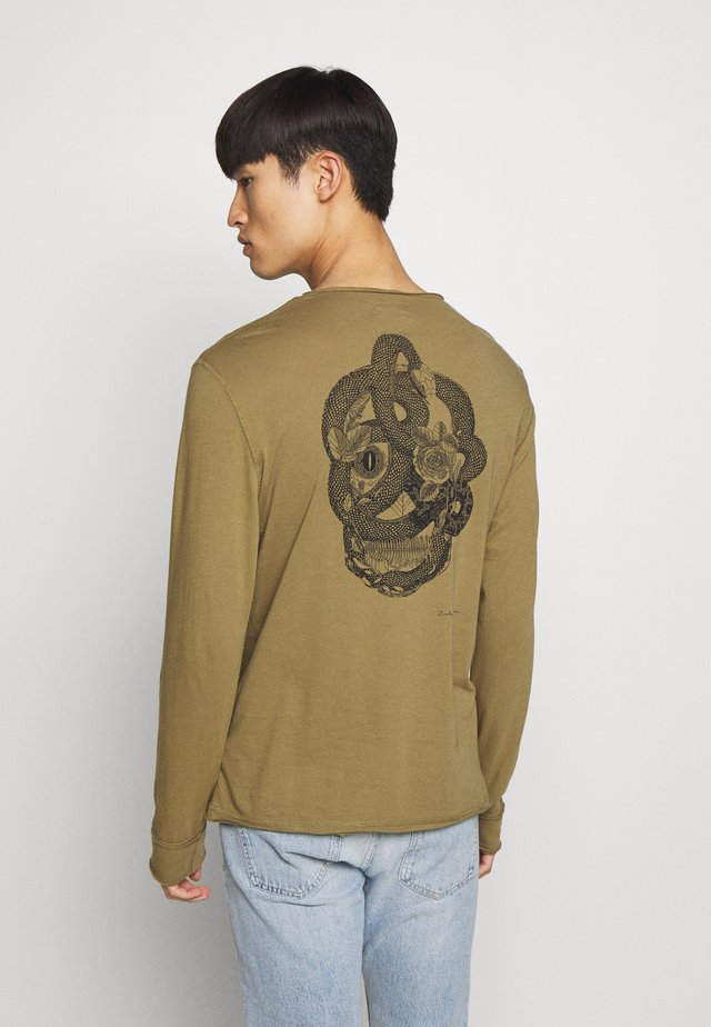 MONASTIR - Long sleeved top - khaki