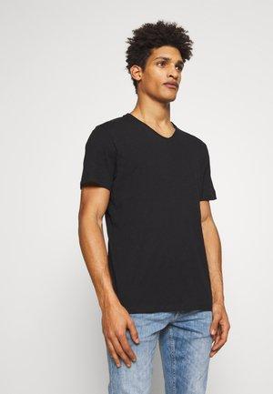 THIBALD FLAMME - T-shirt - bas - noir