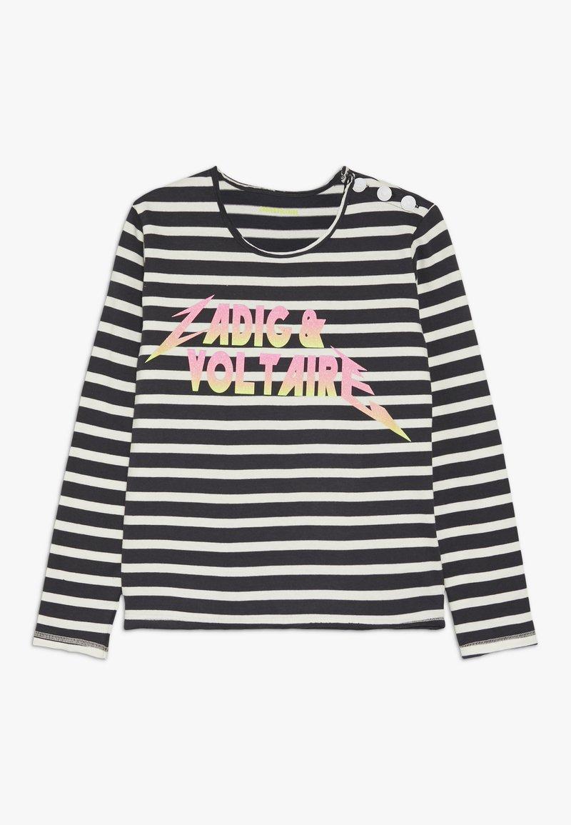 Zadig & Voltaire - Langærmede T-shirts - marine/ecru