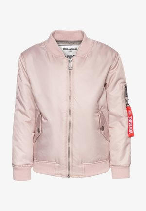 JACKET + KEYRING - Overgangsjakker - pinkpale
