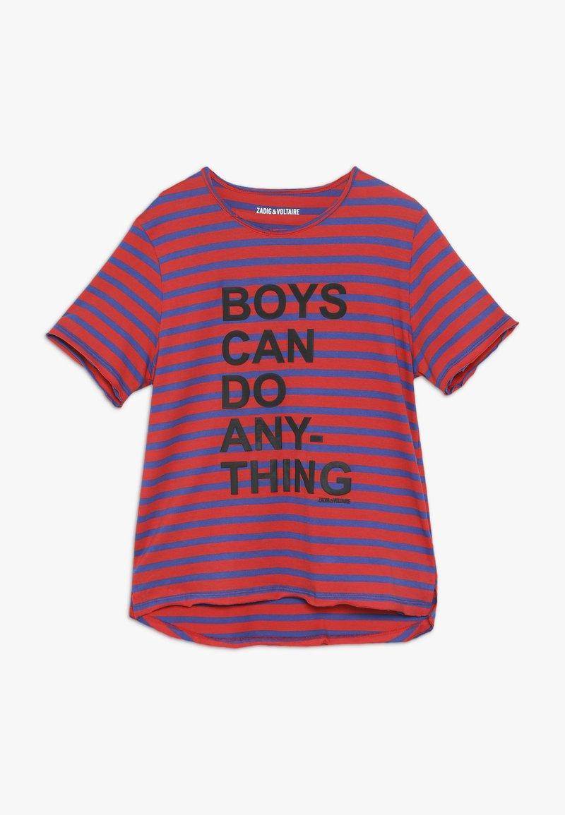 Zadig & Voltaire - Camiseta estampada - hellblau