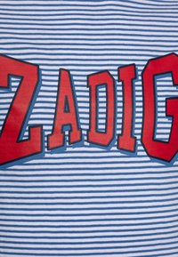 Zadig & Voltaire - SHORT SLEEVES - Print T-shirt - white/blue - 2