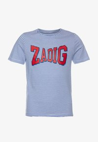 Zadig & Voltaire - SHORT SLEEVES - Print T-shirt - white/blue - 0