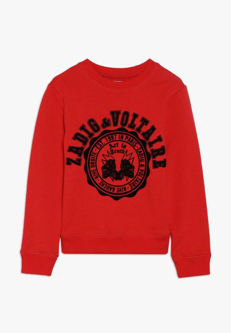 Zadig & Voltaire - Sweatshirt - neon rot