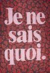 Zadig & Voltaire - DELTA JE NE SAI - Foulard - passion