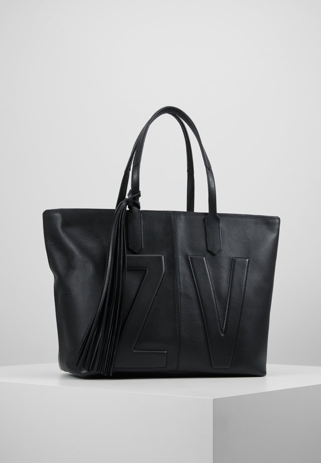 MICK INITIALS - Shopping bag - noir