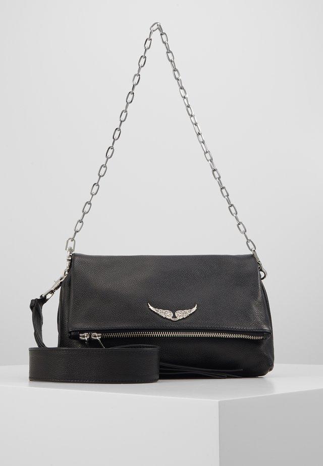 ROCKY GRAINED - Handbag - noir