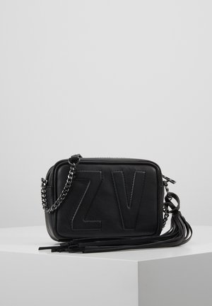BOXY INITIAL - Across body bag - noir