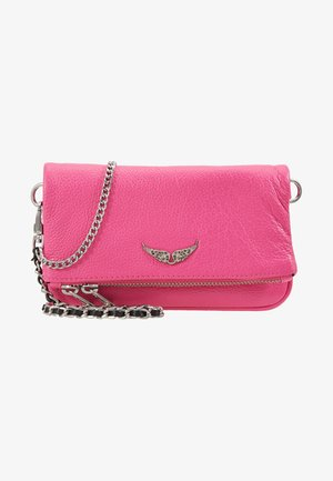 ROCK NANO GRAIN - Clutch - neon