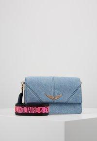 Zadig & Voltaire - LOLITA JEANS - Across body bag - jeans - 0