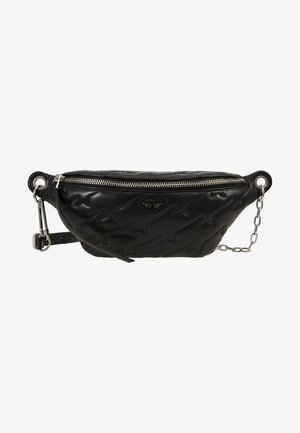 EDIE QUILTED - Bum bag - noir
