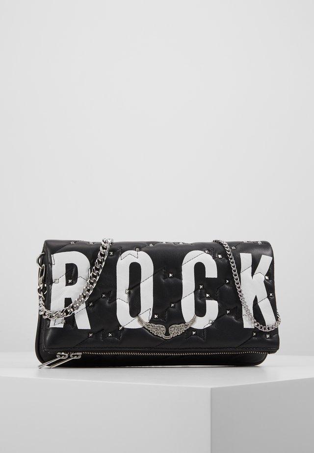 ROCK QUILTED - Clutch - noir