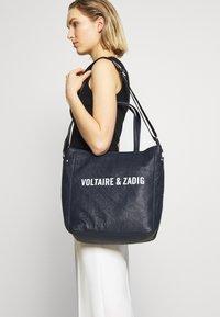 Zadig & Voltaire - DOTTIE - Handbag - ink - 1