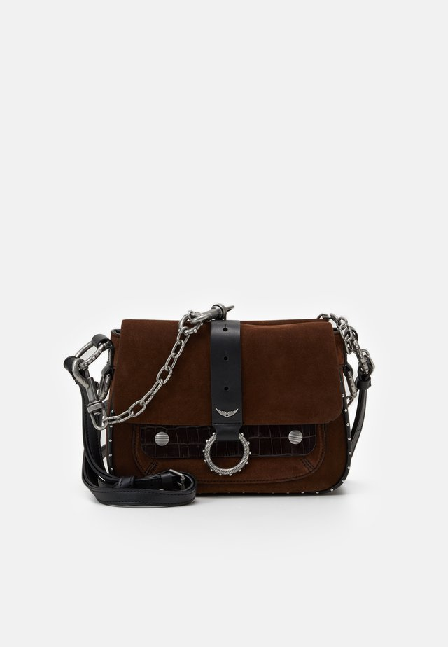KATE SUEDE  - Across body bag - brown