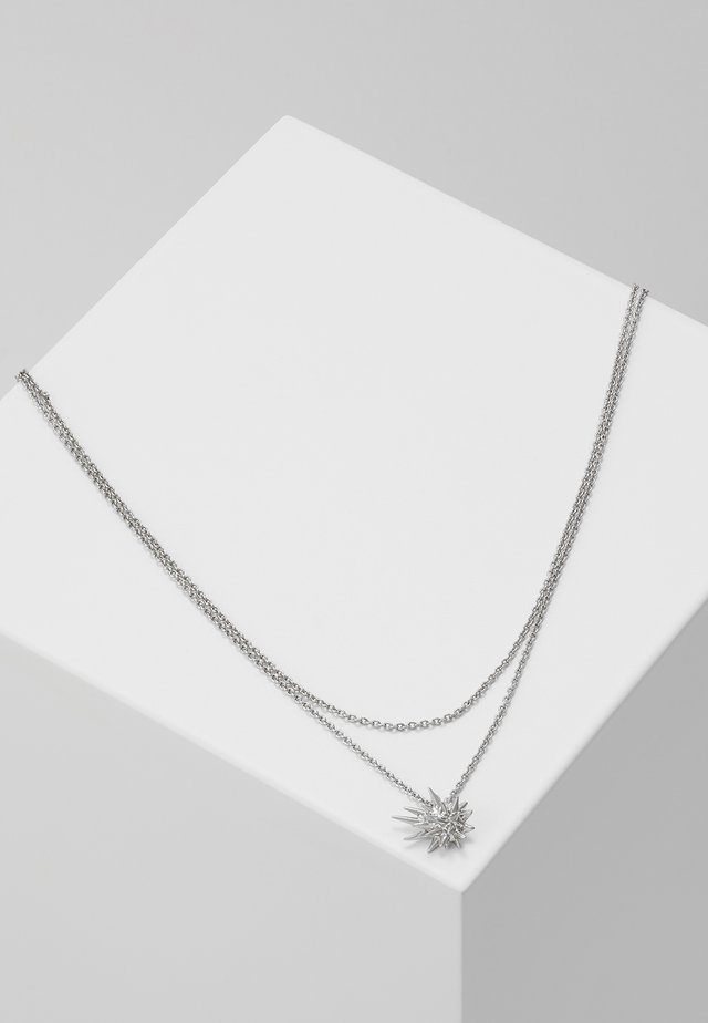 COMETE NECKLACE - Necklace - silver-coloured