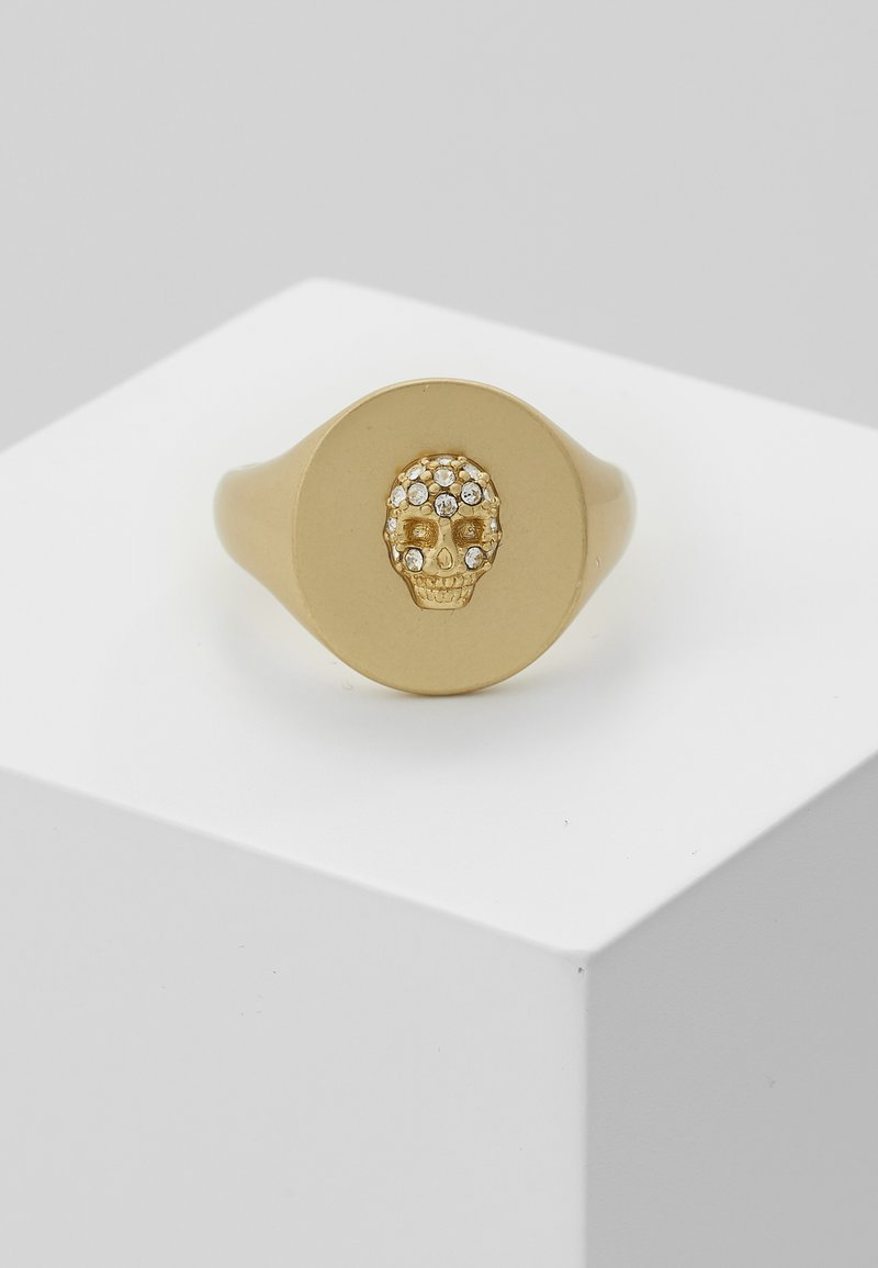 Zadig & Voltaire - SKULL DECLARATI - Prsten - gold-coloured