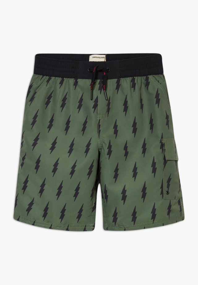 SWIM - Swimming shorts - khaki/black