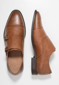 Zalando Essentials - Elegantní nazouvací boty - light brown - 1