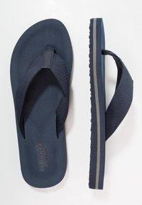Zalando Essentials - T-bar sandals - dark blue - 1