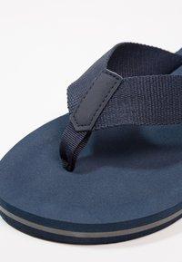 Zalando Essentials - T-bar sandals - dark blue - 5