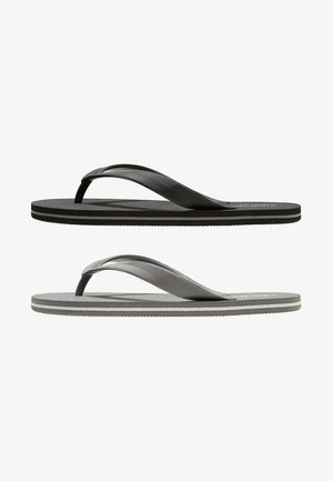 2 PACK - Pool shoes - grey/black