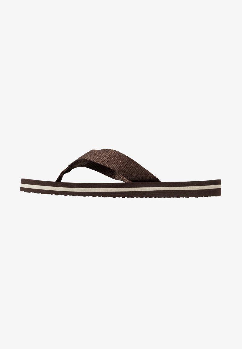 Zalando Essentials - Sandaler m/ tåsplit - brown