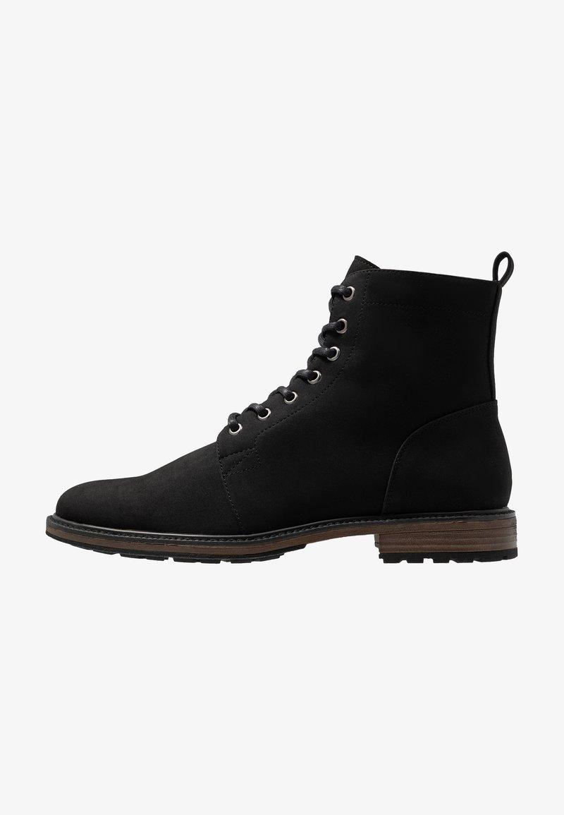 Zalando Essentials - Šněrovací kotníkové boty - black