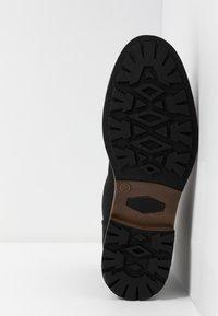 Zalando Essentials - Šněrovací kotníkové boty - black - 4