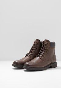 Zalando Essentials - Lace-up ankle boots - dark brown - 2