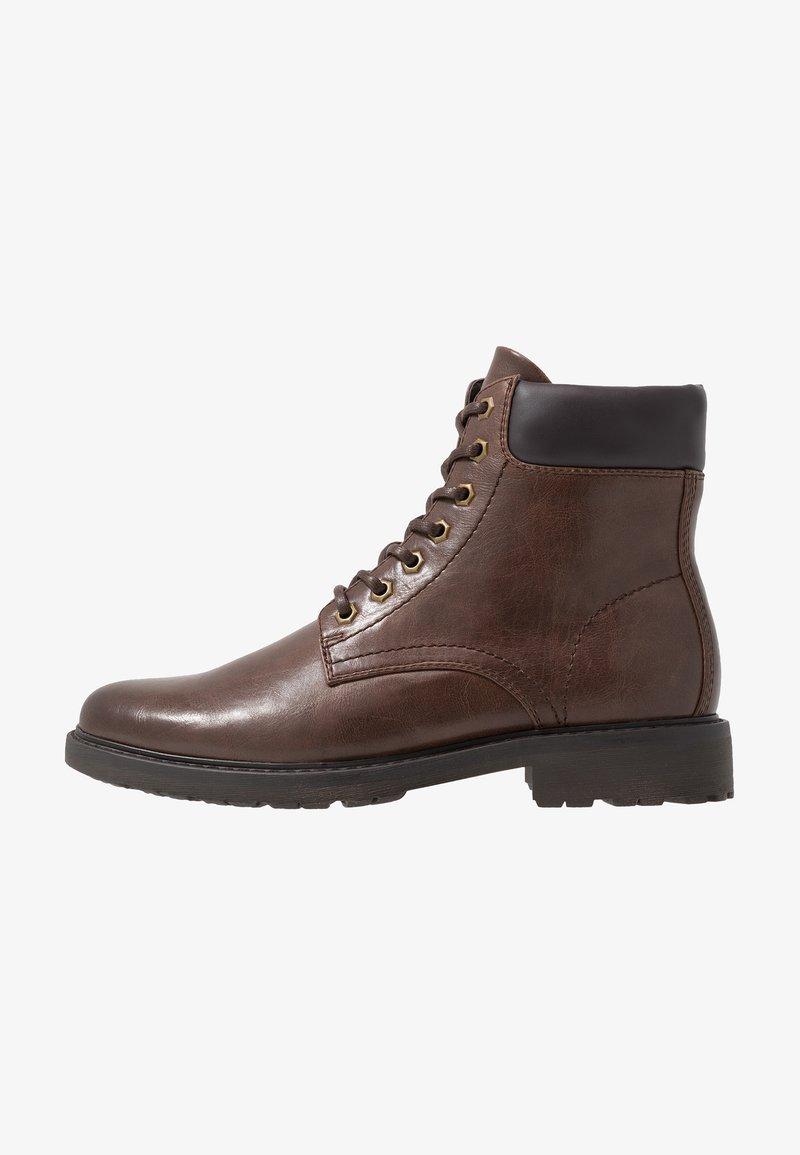Zalando Essentials - Lace-up ankle boots - dark brown