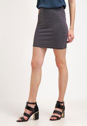 2 PACK - Pouzdrová sukně - black/dark grey