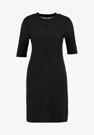 CASHMERE - Abito in maglia - black