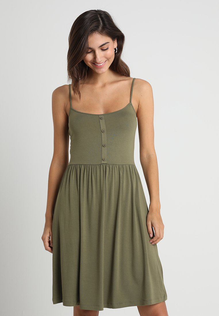 Zalando Essentials - Jersey dress - burnt olive