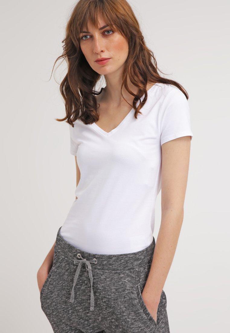 Zalando Essentials - T-shirt basique - white