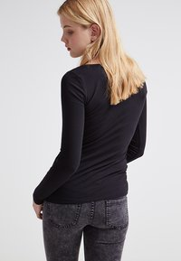 Zalando Essentials - 2 PACK - Longsleeve - black/black - 3